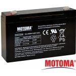 Motoma 6V 12Ah návod a manuál