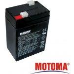Motoma 6V 4,5Ah návod a manuál