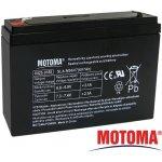 Motoma 6V 7Ah návod a manuál