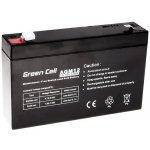 Green Cell AGM 6V 7Ah návod a manuál