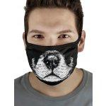 Haxito Prémiové bavlnené rúško na gumičku DOG NOSE Čierna 1 ks návod a manuál
