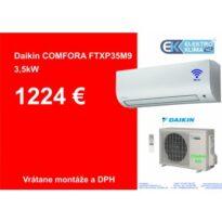 DAIKIN Comfora FTXP35M+RXP35M návod a manuál