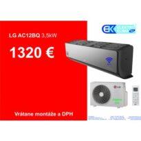 Klimatizácia LG Artcool AC12BQ návod a manuál